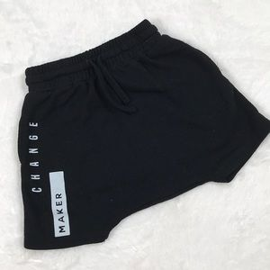 Black Change Maker Shorts, size 12 Months